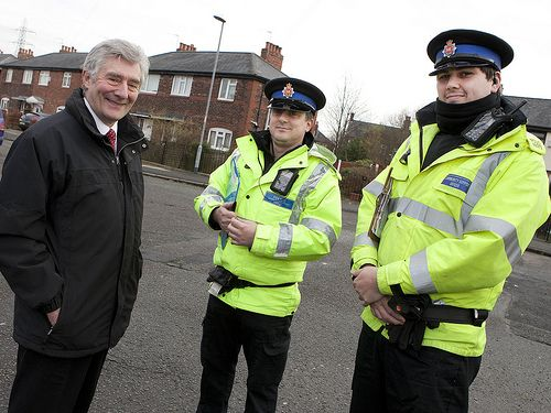 Tony Lloyd, Greater Manchester's Police and Crime Commissioner, joins local PCSOs on patrol in Clayton to meet members of the community and hear about their concerns. www.gmp.police.uk