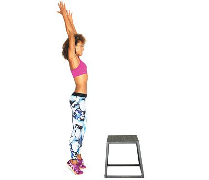 Box Jump: Workouts: Self.com:This is one of those show-off moves that looks harder than it is.