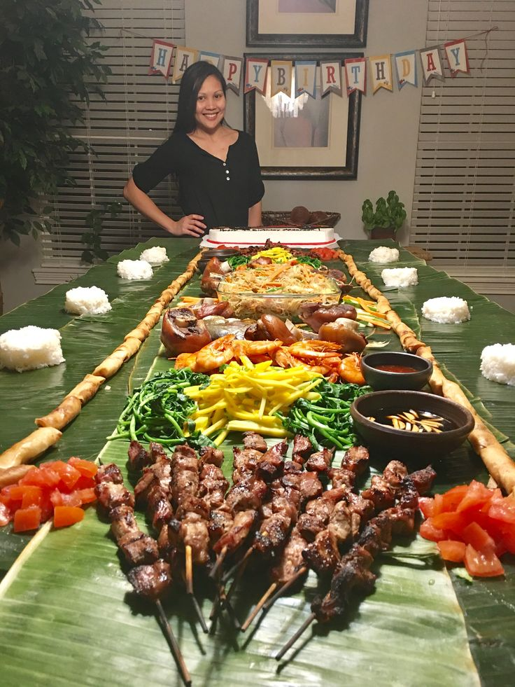 Boodle fight March 2017 Food, Philippines food, Recipes