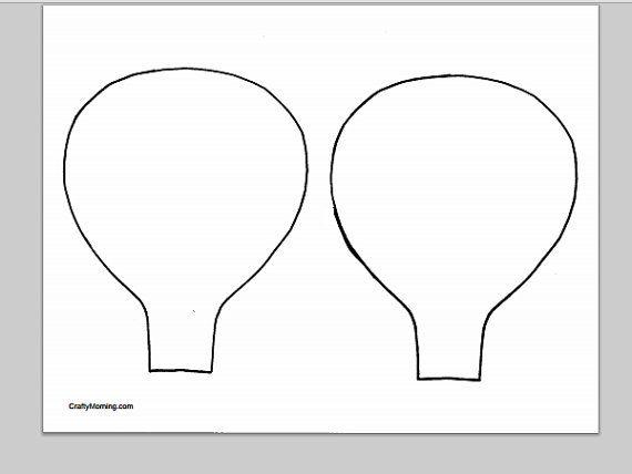 25+ Best Ideas About Balloon Template On Pinterest