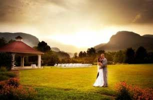 The 1927 Lake Lure Inn & Spa Hotel combines historical elements w/ modern comforts to offer accommodations, dazzling wedding venues, and banquet facilities