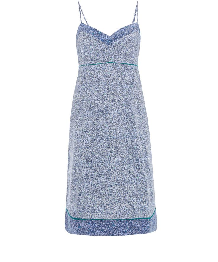 Liberty London Blue Esteban Print Cotton Nightdress | Sleepwear by Liberty London | Liberty.co.uk