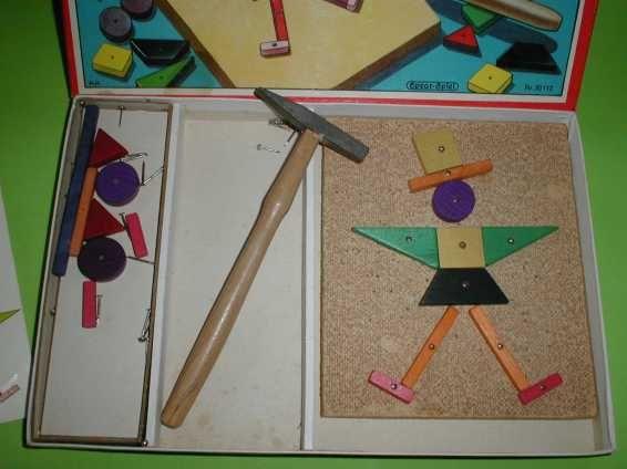 Altes Spielzeug - Schwings Hämmerchen