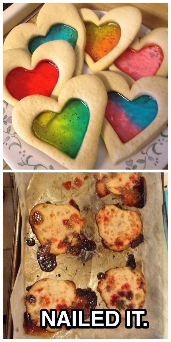 These stained-glass cookies: