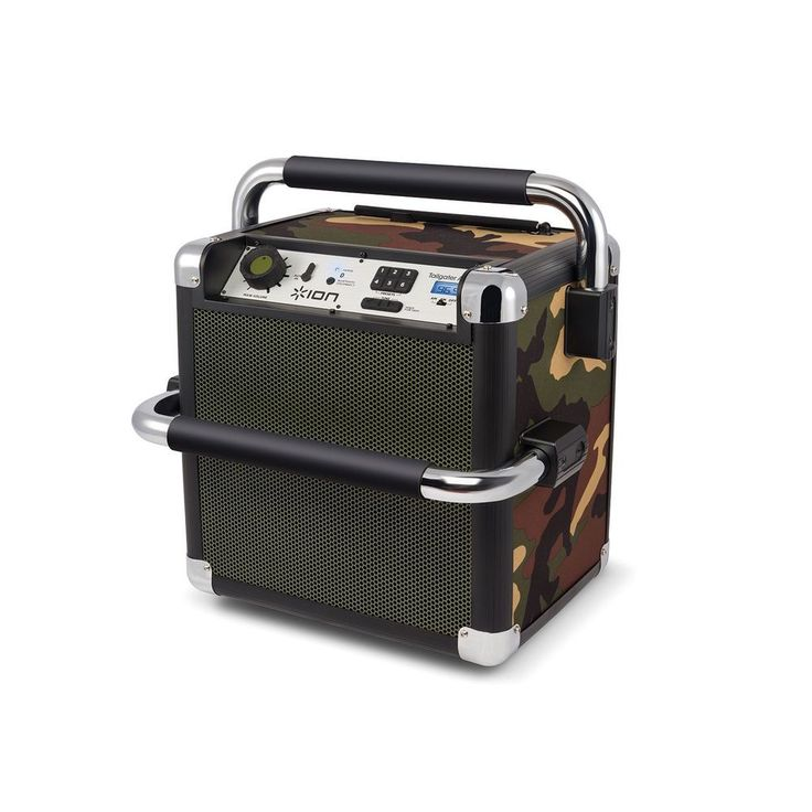 #Ion Audio Tailgater Active #CAMO Heavy-Duty Wireless Sound System, No Sales Tax #ION