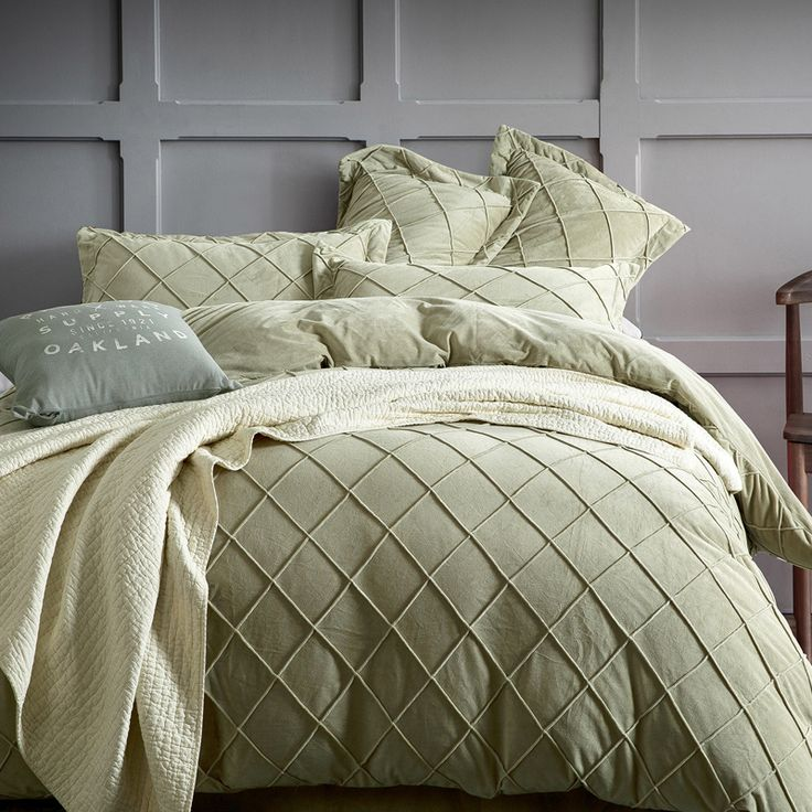 4pcs Winter Fleece Bedding Set Twin Full Queen King Size Bed Linen Warm  Bedspread Grid Duvet