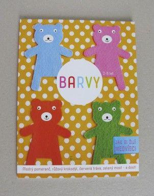 Barvy pro děti | Jak si žijí medvídci | AXIÓMA nakladatelství pro děti