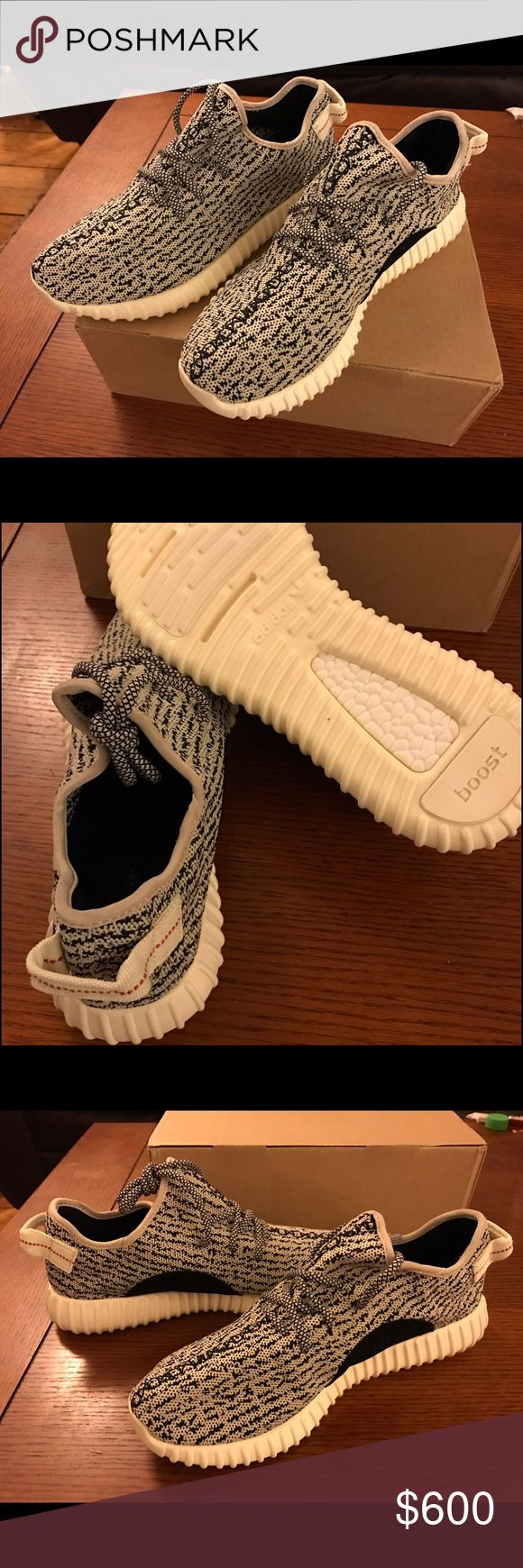 "Adidas Yeezy Boost 350 ""Turtle Dove"" DS Men's 11.5 Adidas Yeezy Boost 350 ""Turtle Dove"" by Kanye West sz 11.5 US mens, Deadstock (never worn) condition, Receipt, OG box $600 Or Best Offer  Brand new in box Yeezy boosts. OG box, receipt, Deadstock. I have"