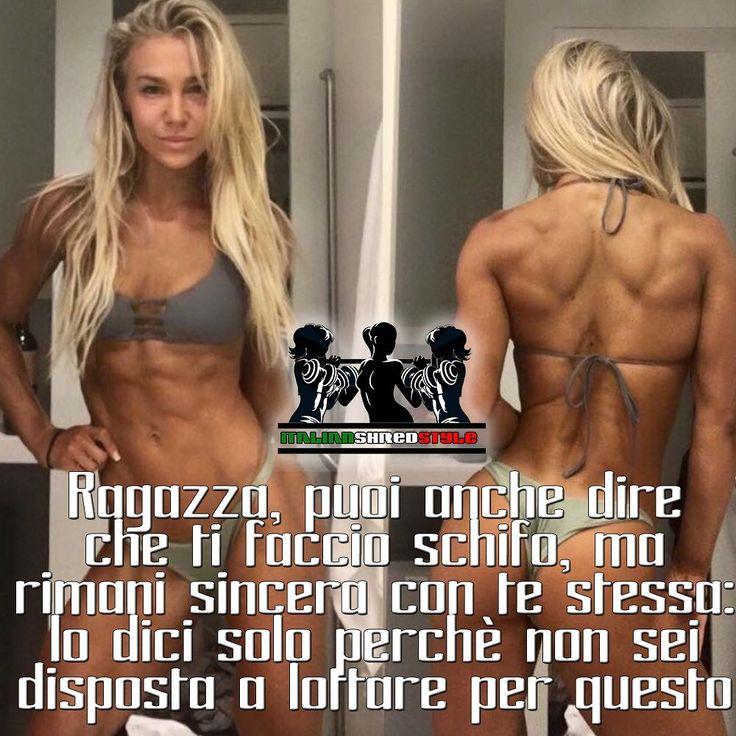 Siate sincere con voi stesse ItalianShredStyle: il fitness al femminile. Pagina Facebook: http://ift.tt/28VSyE6 TICINOSTHETICS: la tua fonte per bodybuilding e benessere @ticinosthetics #ticinosthetics http://ift.tt/1f2ToMR #fitnessitalia #bodybuildingitalia #fitnessticino #bodybuildingticino #italia #ticino #fitness #bodybuilding #biomeccanica #naturalbodybuilding #aestheticfitness #ghisa #shrdd #gymaesthetics #physique #palestra #palestrati #allenamento #shredded #bodybuilder #salute…