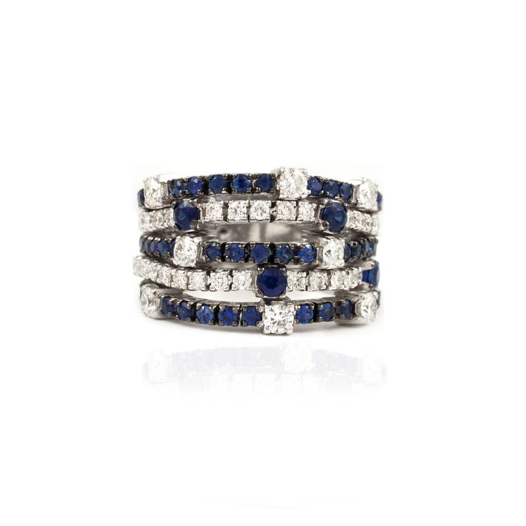 A touch of blue for your autumn | The Paul Sheeran Diamond Ring Collection | Dublin