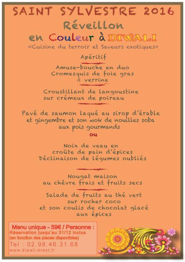 Afficher l'image d'origine   menu saint sylvestre   Saints ...
