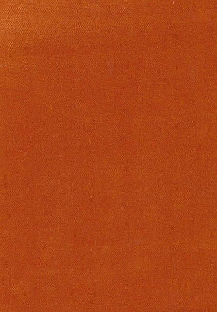 Rooksmoor Velvet A burnt orange plain cotton velvet