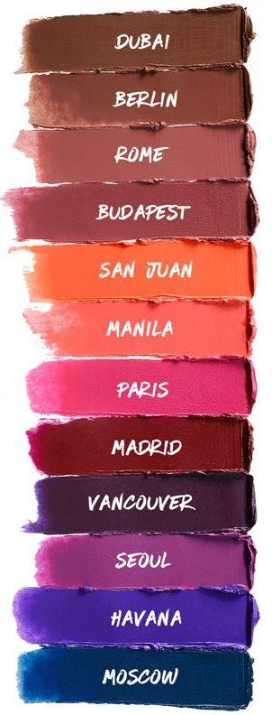 NYX Soft Matte Lip Cream in 12 NEW shades!