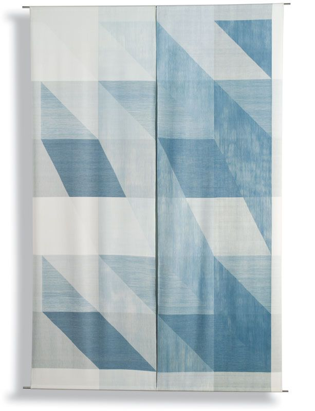 Ethel Stein studied with Josef Albers in the 1940s. Her beautiful weavings often combine a damask structure with ikat dyeing techniques.  Photograph: Tom Grotta