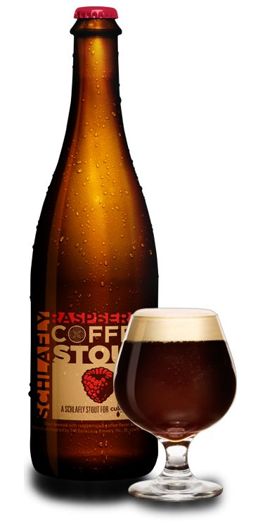 Schlafly Raspberry Coffee Stout  yum