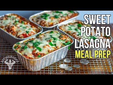 BUDGET SWEET-POTATO LASAGNA Bodybuilding.com - 6 Healthy Comfort Food Recipes