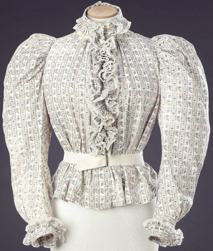 milieu 1890 Blouse in 2020 Womens dresses, Dresses, Long