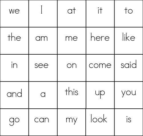 Sight-Word-Bingo-Card-6