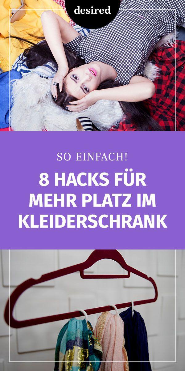 Zu kleiner Kleiderschrank: 8 Hacks für mehr Ordnung!