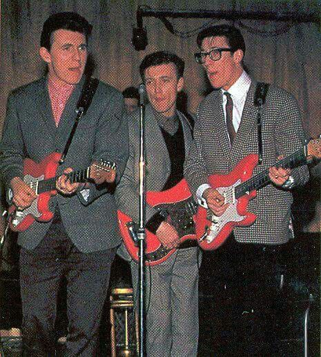 Bruce Welch, Jet Harris and Hank Marvin, The Shadows.