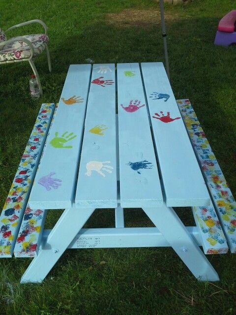 17 Best Images About Picnic Table Paint On Pinterest