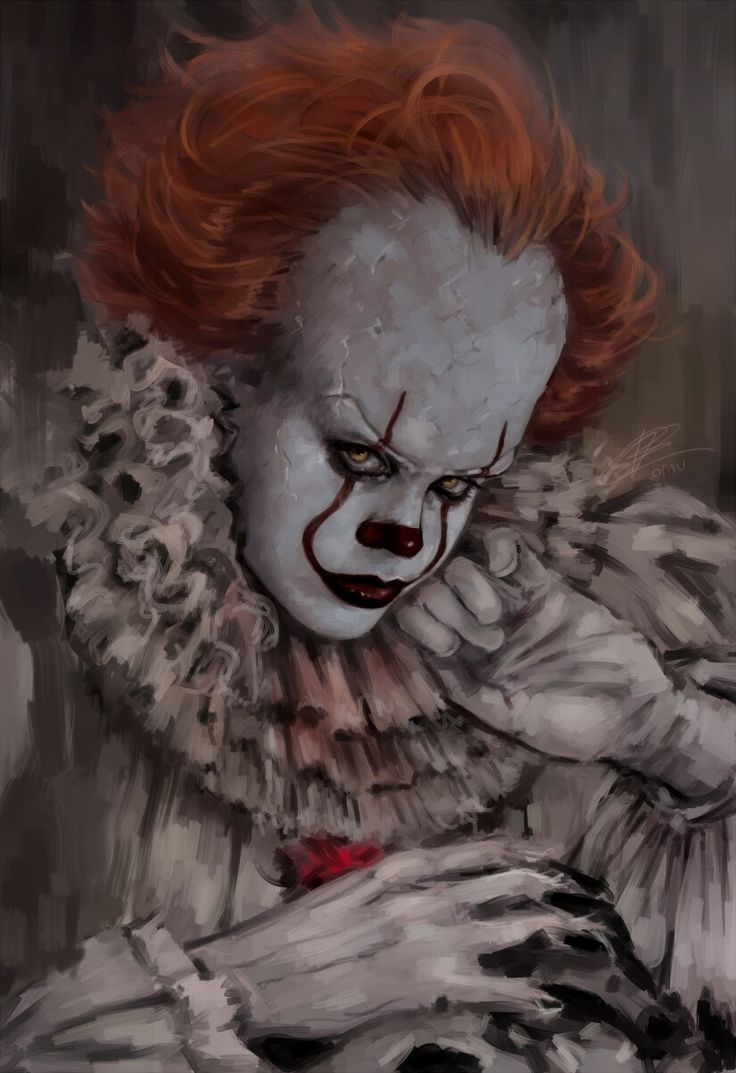 Pennywise...is it weird that I find him so pretty?