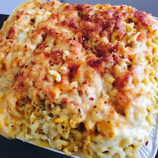 Seafood Mac and Cheese Shrimp Lobster Crab meat LUMP Scallops MyTude®