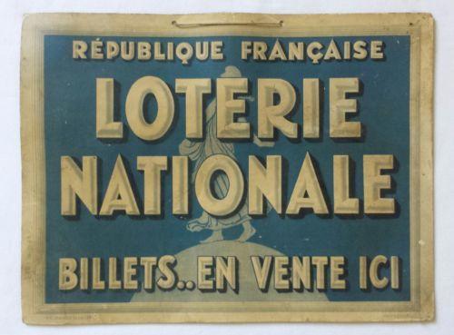 Ancien-carton-publicitaire-LOTERIE-NATIONALE-Billets-La-Semeuse-LOTO