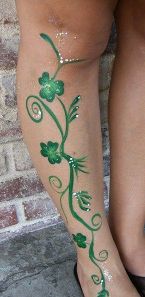 Saint Patrick's Day Face Painting in Claremont, La Verne, San Dimas and Upland for Meetings, Business Events, and Parties