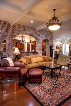 Louisiana Style in the Texas Hill Country - traditional - living room - other metro - Godsey Homes