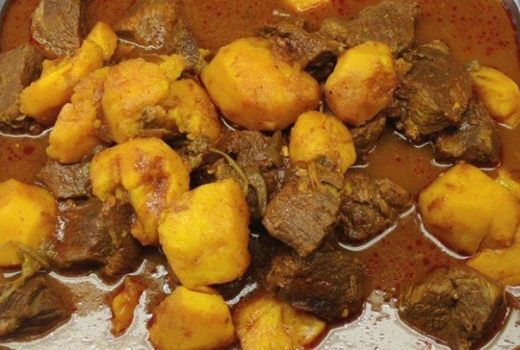 Carne con Papa (Meat and Potatoes) - Hispanic Kitchen