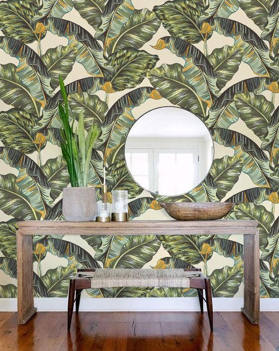 My Wallpapers Are Available On Two Materials; Removable And Nonwoven  Wallpaper. Both Are Easy To Hang And Easy To Take Off. All Of My Prints Are  Designed ...
