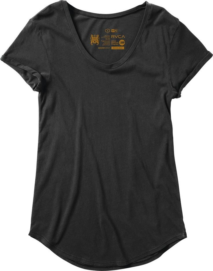 The RVCA Pippi Label tee is the perfect everyday t-shirt