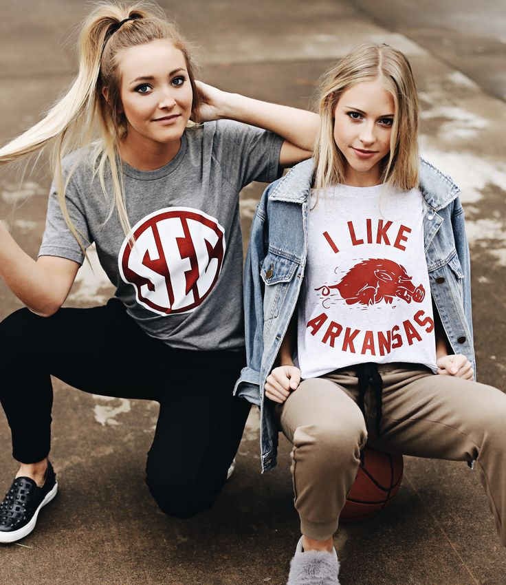 sec and Arkansas game day outfit inspo