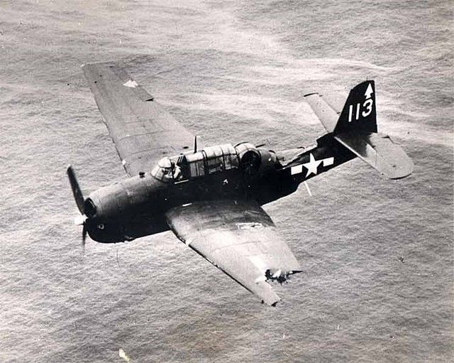 Despite damaged wing, pilot manages to fly plane home.