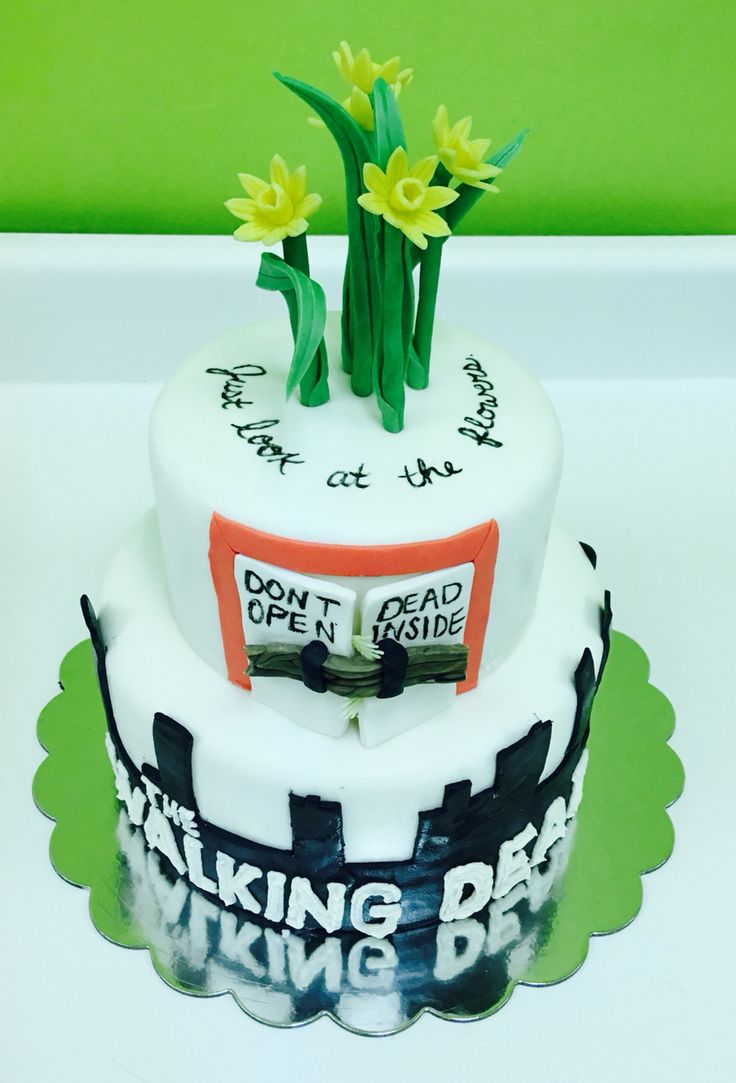 Walking Dead Birthday Cake!