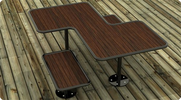 ADA Picnic Table  Custom Fabrication Commercial Picnic Tables | Outdoor Tables | ADA Accessible Tables