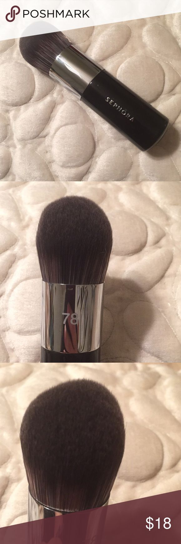 NWOT Sephora brush 78 Sephora brushes, Sephora makeup