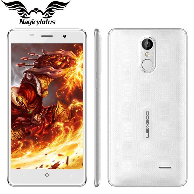 "Original Leagoo M5 3G WCDMA Mobile Phone 5.0"" 1280x720 MT6580A Quad Core Android 6.0 2GB RAM 16GB ROM 8.0MP 2300mAh Fingerprint"