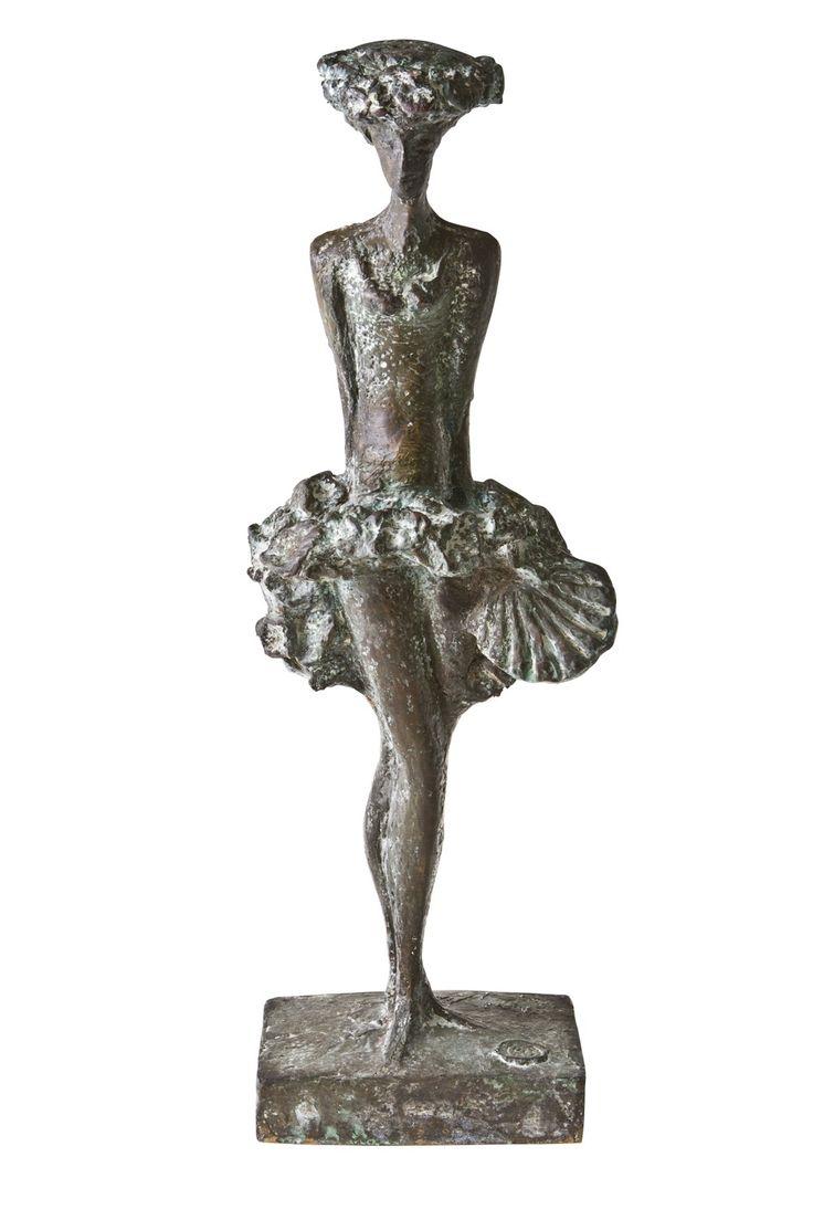 Kari Juva: Cabaret, 2004, pronssi, k. 61 c, edition II/V  - Hagelstam K136