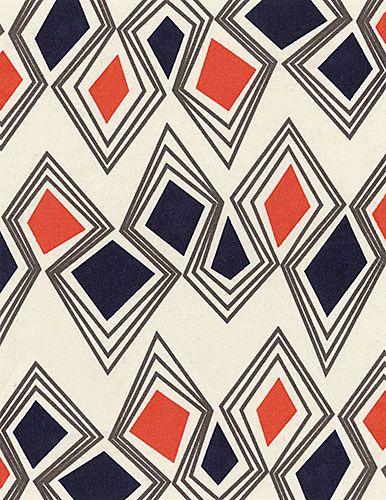 shapes and colors textiles - A Portfolio of Original Patterns by Samantha Cisneros.