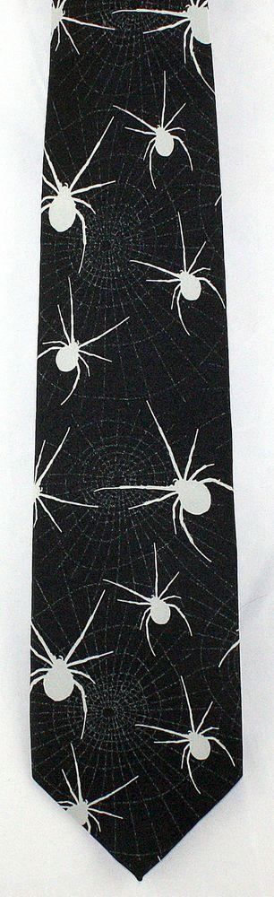 New Creepy Spiders Mens Necktie