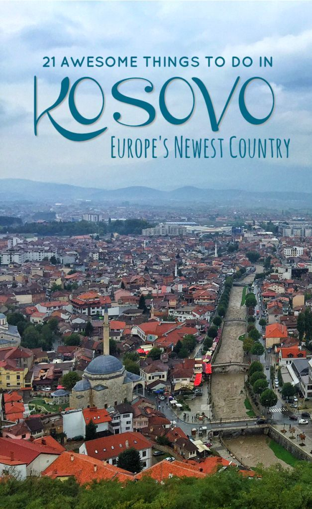 Kosovo only officially declared its independence in 2008, making it the youngest country in Europe and second youngest in the world. It may be a tiny, landlocked country, but there are so many amazing things to do in Kosovo. Here are just 21 ideas!: