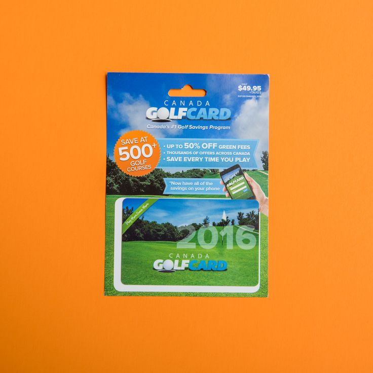 This summer we're featuring one of the best companies to save while enjoying on of our favorite pastimes with the Golf Card Canada. For the casual and hard core golf enthusiast, save as you play, every time! Canada Golf Card is the smartest golf savings program to launch in Canada. This savings card features up to 50% off green fees, at over 500 golf course across Canada and continually adding course across the boarded too!