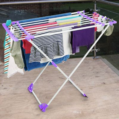 Bonita Flexy Clothes Dryer Stand & Reviews | Wayfair