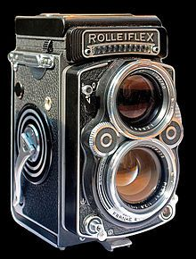 A twin-lens reflex camera (TLR) is a type of camera with two objective lenses of the same focal length.