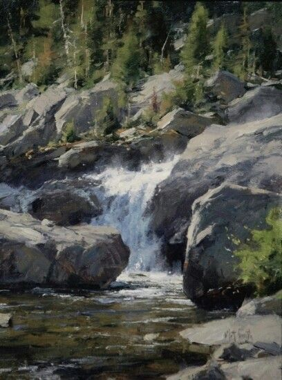 "Matt Smith Fine Art -  ""Shadow Creek"""