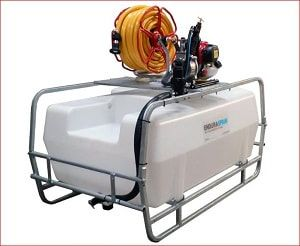 200 litres motorised water bowser, available with an optional pump mounting plate which enables the fitting of different pumps and other add-on for easy watering of large gardens, hanging baskets, orchards, vegetable plots and more. For more info contact us at: http://www.fresh-group.com/waterers-and-bowsers.html