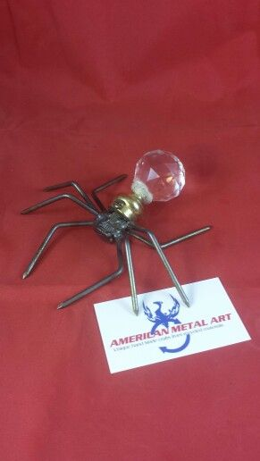 Metal Spider- search American Metal Art on Facebook