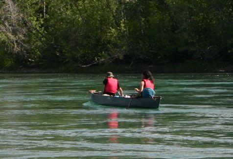 Grass River Park, Flin Flon, Manitoba. Click for profile.